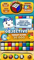 Rubiks Cube - Objective Messages Dialog (lezumbalaberenjena) Tags: art ads corporate design marketing video media graphic social games images cube branding rubiks logotype magmic