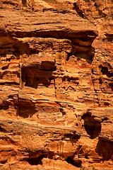 Path to the Monastery 25 (David OMalley) Tags: world city heritage rose rock stone site desert path petra siq carving unesco east jordan monastery arab middle carvings jordanian monumental jebel nabatean nabateans hewn maan almadhbah