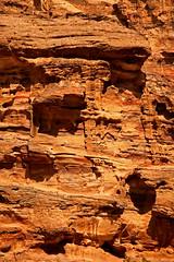 Path to the Monastery 25 (David OMalley) Tags: world city heritage rose rock stone site desert path petra siq carving unesco east jordan monastery arab middle carvings jordanian monumental jebel nabatean nabateans hewn maan almadhbah