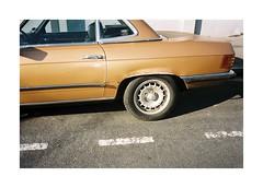 (Punkroyaltiger) Tags: paris film car mercedes mju kodak analogue