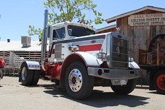 IMG_2782 (RyanP77) Tags: show california b white truck log model shiny trucker international chevy chrome r pete logger gmc peerless kw peterbilt ih kenworth cabover bullnose fruehauf