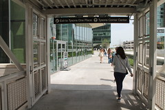 08.WMATA.TysonsCornerStation.VA.8May2016 (Elvert Barnes) Tags: nova virginia publictransportation commuting wmata northernvirginia tysonscorner silverline 2016 pedestrianbridges washingtonmetropolitanareatransitauthority dullescorridormetrorailproject wmatasilverline dullescorridorsilverline may2016 wmatatysonscornerstation nova2016 wmata2016 washingtonmetropolitanareatransitauthority2016 publictransportation2016 virginia2016 va2016 northernva2016 northernvirginia2016 tysonscorner2016 pedestrianbridgewmatatysonscornerstation commuting2016 silverline2016 dullescorridormetrorailproject2016 dullescorridorsilverline2016 wmatasilverline2016 8may2016 pedestrianbridges2016 wmatasilverlinetrainlargocenterbound
