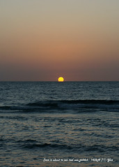 sunset over red sea (Yans Z) Tags: beach redsea saudi jeddah