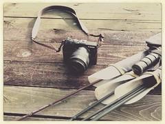 Canon and Penthalon (shortscale) Tags: canon arrow archery m3 kamera pfeil penthalon