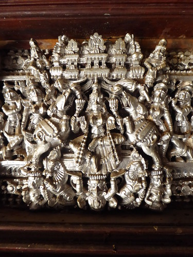 Parvati Relief, Chettinad Mansion, Kanadukathan