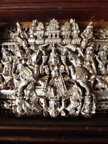 Parvati Relief, Chettinad Mansion, Kanadukathan