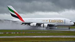 Emirates Airbus A380-861 A6-EDX (StephenG88) Tags: man uae emirates airbus a380 ek boeing manchesterairport egcc 5216 emiratesairline 2516 a380800 23l 23r a388 a6edx 2ndmay2016
