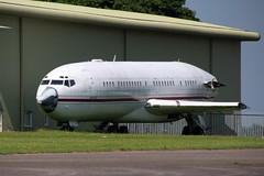Boeing 727 VP-CMN (NTG's pictures) Tags: kemblecotswold airport boeing 727 vpcmn