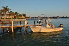 Marco Island (nebulous 1) Tags: morning water buildings pier boat nikon florida flag earlymorning marcoisland nebulous1