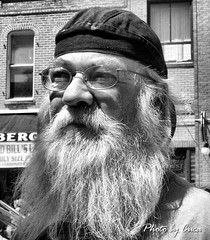 Aug 2011 - In and around Deadwood during Sturgis rally v23 (lazy_photog) Tags: white black classic beard photography south rally great stranger hills lazy motorcycle biker wyoming races dakota deadwood sturgis elliott photog worland