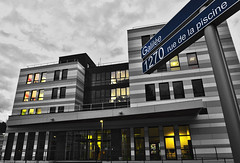 Laboratoire 3SR (HDR) (inami_13) Tags: street grenoble buildings campus calle edificios university universit universidad hdr carrer universitat edificis d5000 laboratoire3sr