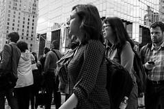 Rush Hour Exodus (Howard Yang Photography) Tags: blackandwhite bw toronto streetphotography financialdistrict rushhour fujifilmx100s