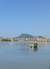 Mar Menor (Sonia.Solano) Tags: sea boat mar murcia marmenor lamangadelmarmenor
