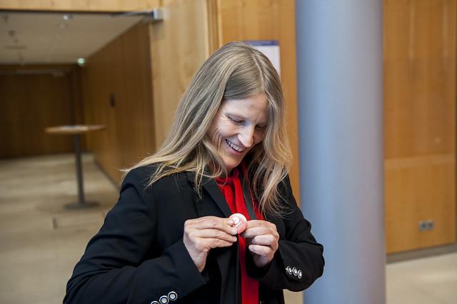 Gabriele Grimm earns her ITF@10 badge