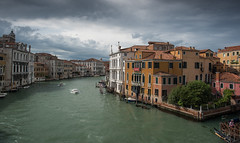 Grand Canal from Ponte dell Accademia