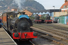 West Somerset Railway Spring Gala to commemorate the 50th annivesary of the closure of the Somerset & Dorset Joint Railway. (Adrian Walker.) Tags: heritage trains somerset steam tamron locomotives steamtrain 4f minehead manston lms bishopslydeard 7f westsomersetrailway bulleid sdjr 8f stanier 53808 44422 53809 34053 heritagerailways peckett 44871 45379 48624 pacifics canon60d somersetdorsetrailway sirkeithpark brstandard4mt 34070 sdrht titfeildthunderbolt blsckfive