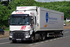 JBT Renault Series T SF15NHN on the A90, Dundee, 20/6/16 (andyflyer) Tags: transport lorry a90 haulage hgv jbt roadtransport renaultseriest sf15nhn