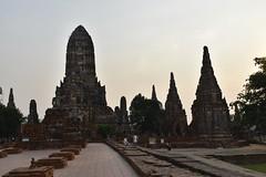 _DSC0338 (lnewman333) Tags: sunset sea river thailand temple seasia southeastasia buddhist unescoworldheritagesite ayuthaya ayutthaya chaophrayariver 1460 watchaiwatthanaram kingprasatthong