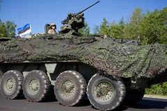 2CR Dragoon Ride II Estonian border June 14, 2016 (2d Cavalry Regiment) Tags: trooper europe estonia nato usarmy dragoon stryker 2cr usareur eucom taskforcesaber 2dcavalryregiment dragoonride alliedstrong dragoonrideii