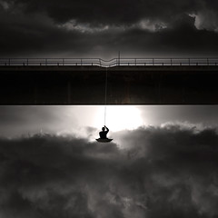 Enlightenment (George Christakis) Tags: light art strange clouds george image artistic surrealism surreal manipulation rope imagination enlightenment christakis truthandillusion