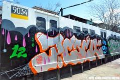 DSC_0713 (TaniaFuentezMedia) Tags: newyorkcity travel music art graffiti crash bronx murals bio hiphop how subways photgraphy nicer thepoint tatscru toytokyo nosm huntspoint bg183 muralkings johnmatos taniafuentez taniafuentezmedia