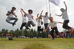 Volunteer Fly High (natasyacacha) Tags: vicky ezza angga kemal tasya depoy naena