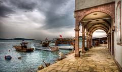 Urla, Izmir (Nejdet Duzen) Tags: trip travel sea vacation holiday turkey hotel boat day cloudy trkiye deniz iskele sandal izmir otel tatil turkei seyahat urla saariysqualitypictures batisinkahvesi