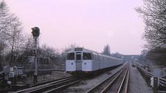 1972 MkI Tube Stock at Highgate depot (bowroaduk) Tags: tube londonunderground londontransport