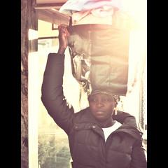 (K@spa) Tags: africa street portrait bag faro retrato sony rua saco joo kspa sonycybershotw170 jooreganha reganha choicecaf