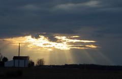 """Heaven on Earth"" (P_Kingman) Tags: sky cloud sun beautiful lumix ray shine panasonic dmc fz150"