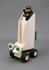 Cloud Rover (halfbeak) Tags: moon fog clouds lego space minifig navigation moc classicspace spacerover brumeous
