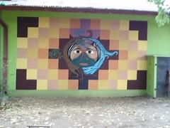 witrange pu ngenmapun (MAÑKE) Tags: mural mapuche paillaco