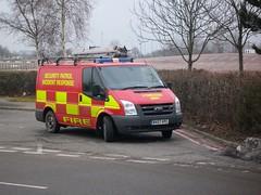 BV07 VPC (markkirk85) Tags: ford fire birmingham security transit van patrol nec vpc bv07 bv07vpc