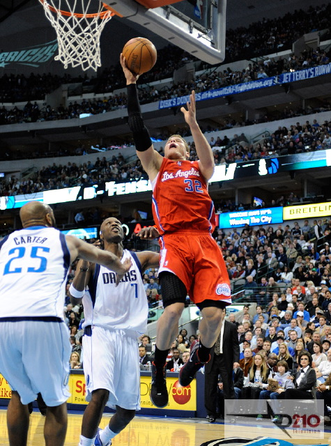 NBA 2012: Clippers vs Mavericks FEB 13/Photo Credit: Albert Pena