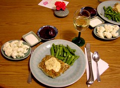 Valentine's Day Dinner (mudder_bbc) Tags: food fish cooking dinner menu menus foods meals recipes homecooking haddock valentinesday sauces foodpreparation bakedfish homemadefood holidaydinner holidaymeals bakedhaddock creamsauces shrimpcheddarcreamsauce