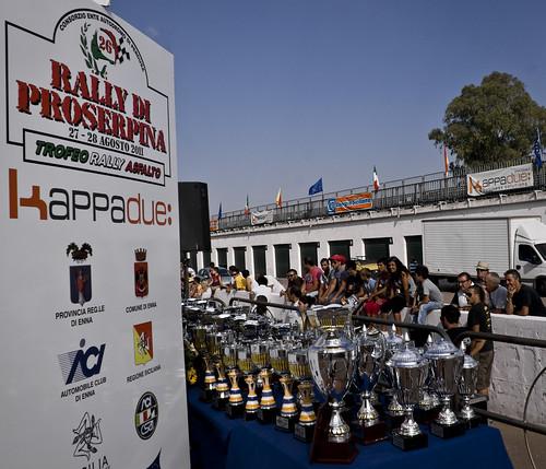 I trofei del 26° Rally Proserpina 2011