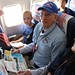 "WWII Veteran shares his story with student on Freedom Flight • <a style=""font-size:0.8em;"" href=""http://www.flickr.com/photos/76663698@N04/6885380173/"" target=""_blank"">View on Flickr</a>"
