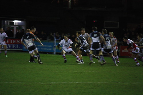 Gavin Henson on the ball