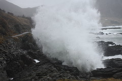 Wave (fotoroto) Tags: ocean sea storm canon 50mm movement wind crash mark f14 n sigma wave atlantic og ii impact stadt crush eos1d sogn drage fjordane selje stadlandet