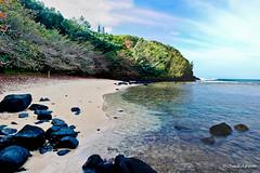 SeaLodge Beach (Chuck 55) Tags: hawaii kauai princeville kauaihawaii sealodgebeach kauaitrails kauaihikes sealodgebeachpath