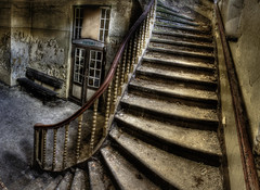 time stands still (endsilence) Tags: door panorama stairs deutschland still floor time bank treppe staircase e ddr sanatorium tr hdr stands flur klinik treppenhaus station1 tonemapping wartebereich heilsttten heilsttte endsilence ingorius