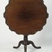 299. Fine Shaped and Piecrust Edge Tilt Top Table