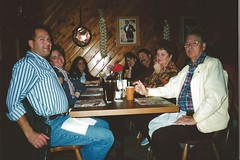 Jeff, Whitney, Carrie, Kathy, Bob, Olive, John Humenik