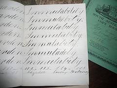 Anglų lietuvių žodynas. Žodis copy-book reiškia n sąsiuvinis (dailyraščiui) lietuviškai.