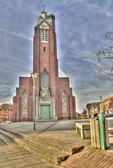 Roisel Somme Picardie France ( photopade (Nikonist)) Tags: france architecture hiver eglise picardie somme nikond200 photomatixhdr nikkor187013545ged lightroom3 roisel rememberthatmomentlevel1