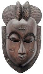 10Y_0907 (Kachile) Tags: art mask african tribal côtedivoire primitive ivorycoast gouro baoulé nativebaoulémasksaremainlyanthropomorphicmeaningtheydepicthumanfacestypicallytheyarenarrowandfemininelookingincomparisontomasksofotherethnicitiesoftenfeaturenohairatallbaouléfacemasksaremostlyadornedwithvarioustrad