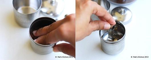 How to make degree coffee step 2