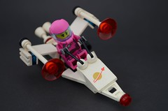 Space Travel (nighteye) Tags: travel lego space minifigures series6 intergalacticgirl