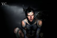 The Tales Of Sullen Enchanted (VictorCrulich) Tags: people paint body pixie fairy fantasy bodypainting