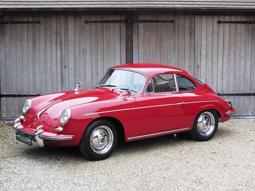 Porsche 356 B Super 90 (1962).